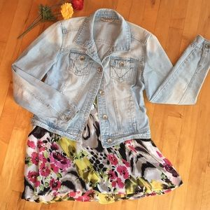 Highway Jeans Denim Jacket, fits like a small.